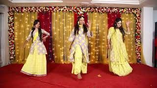 Download 11 - Tu Cheez Badi - Orpita, Priya, Reshmi & Nishat Bangladeshi Wedding Dance Performance Video