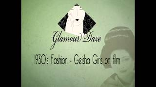 Download Vintage Japanese Hair and Makeup - 1935 Film Video