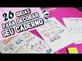 Download COMO DECORAR O CADERNO E DEIXAR ELE LINDO | TÍTULOS, DATAS E MARGENS Video