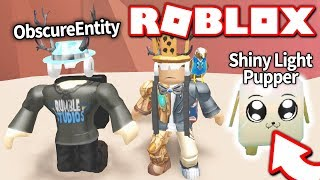 Download PLAYING WITH THE CREATOR OF MINING SIMULATOR: ObscureEntity *THIS PET IS IMPOSSIBLE TO GET* (Roblox) Video