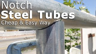 Download Cheap way to notch steel tubes Video