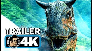 Download JURASSIC WORLD 2 Official Trailer #1 (4K ULTRA HD) Chris Pratt Dinosaur Movie 2018 Video