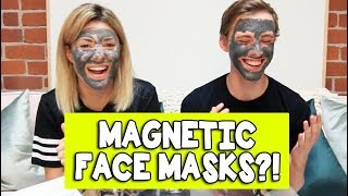 Download MAGNETIC FACE MASKS w/ JON COZART // Grace Helbig Video