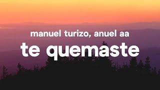 Download Manuel Turizo & Anuel AA - Te Quemaste (Letra) Video