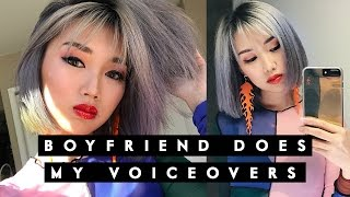 Download 😂BOYFRIEND DOES MY VOICEOVERS! (I cried laughing)😂 Video