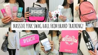 Download PINK Campus Rep Swag Haul! (Brand Training 2016) Video