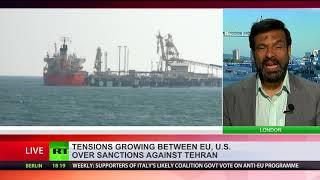 Download Petro-Euro? Tensions between EU & US grow over sanctions against Iran Video
