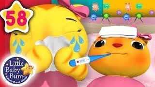 Download Sick Song | + More Nursery Rhymes & Kids Songs | Songs For Kids | Little Baby Bum Video