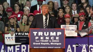 Download Donald Trump Promises to Deport Criminal Immigrants Video