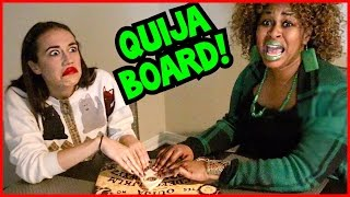 Download QUIJA BOARD CHALLENGE! // GloZell & Miranda Video