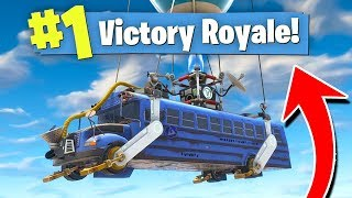 Download WINNING FORTNITE In The STARTING BUS! (Fastest Win?) Video