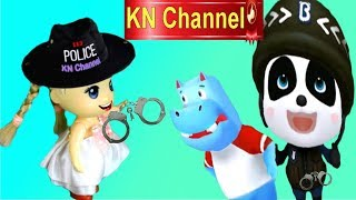 Download Trò chơi KN Channel BÚP BÊ TẬP LÀM CẢNH SÁT BẮT KẺ CƯỚP NGÂN HÀNG Video