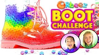 Download Orbeez Filled Boots Challenge with Orbeez Girls | Official Orbeez Video
