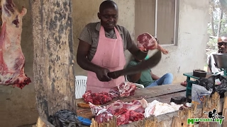 Download Nyama Choma: Tanzanian Roasted Goat - African Street Food! Video