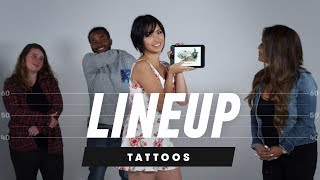 Download Which Tattoo Belongs to Which Person? | Lineup | Cut Video