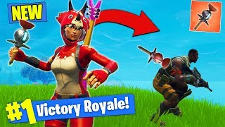 Download *NEW* CLINGER STICKY GRENADE GAMEPLAY In Fortnite Battle Royale! Video
