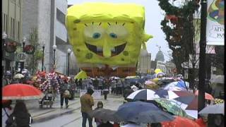 Download Christmas Parade Balloons Video