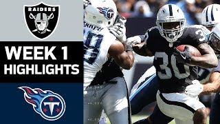 Download Raiders vs. Titans   NFL Week 1 Game Highlights Video