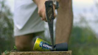 Download Axe Through a Deodorant Can - The Slow Mo Guys Video