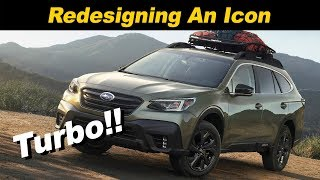 Download 2020 Subaru Outback First Look Video