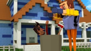 Download Minecraft - HOW TO GET AWAY WITH MURDER! (Hello Neighbor in Minecraft) Video