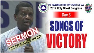 Download Pastor E.A Adeboye Sermon @ RCCG Deliverance Night 2017 HOLY GHOST CONGRESS #Day3 Video