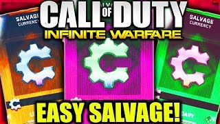 Download HOW TO GET SALVAGE FAST and EASY INFINITE WARFARE! GET MORE SUPPLY DROPS and SALVAGE POINTS COD IW! Video