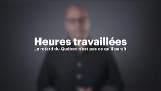 Download Heures travaillées: le retard du Québec n'est pas ce qu'il paraît Video