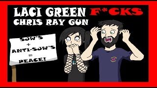 Download Laci Green F*cks Chris Ray Gun For Peace - Anita Sarkeesian Needs More Money Video