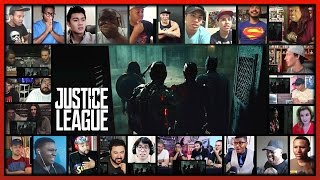 Download JUSTICE LEAGUE Comic-Con Trailer Reaction's Mashup (31 people) Video