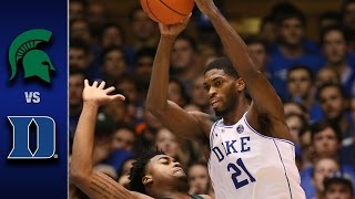 Download Duke vs. Michigan State Men's Basketball Highlights (2016-17) Video