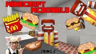 Download Minecraft mcdonald map - แฮมเบอร์เกอร์พร้อมเสริฟคร้าบ zbing z. Video
