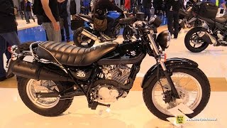 Download 2016 Suzuki Van Van 200 - Walkaround - Debut at 2015 EICMA Milan Video
