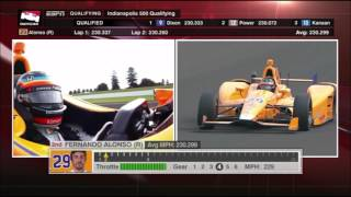 Download 2017 Indy 500 - Fernando Alonso Qualifying Video
