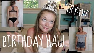 Download My 19th Birthday Haul || Try-On Video