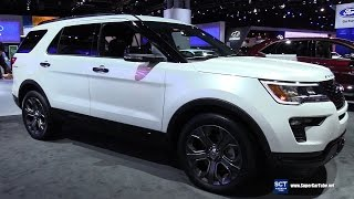 Download 2018 Ford Explorer Sport - Exterior and Interior Walkaround - Debut at 2017 New York Auto Show Video
