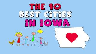 Download The 10 BEST CITIES to Live in IOWA Video