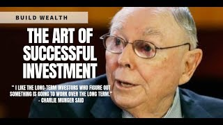 Download Charlie Munger on the Art of Successful Investment - Building Wealth Video