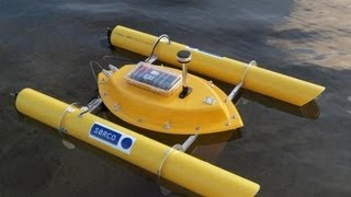 Download Self Positioning Buoy Measures Depth of Lake Video