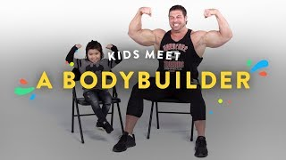 Download Kids Meet a Body Builder | Kids Meet | HiHo Kids Video