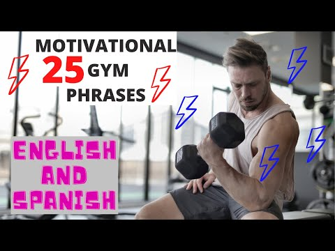 25 Motivational Workout ️ Phrases 🏆Never Give Up 🏋️♀️Inspirational Quotes 🗣 Spanish & English💂