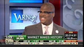 Download FOX Business Network Host Starts Singing After Dow Breaks 20,000 Video