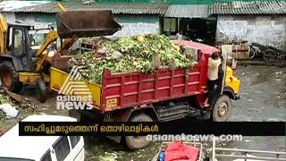 Download Waste disposal is not functioning properly in Kochi Broadway market Video
