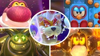 Download Super Mario 3D World - All Bosses (3 Player) Video