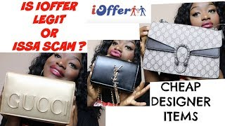 Download CHEAP DESIGNER ITEMS || IS IOFFER LEGIT OR ISSA SCAM ? Video