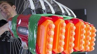 Download SIX NERF THUNDERBOWS AT ONCE Video