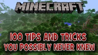 Download 100 Tips & Tricks In Minecraft You Possibly Never Knew Video