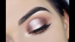 Download HOW TO: Cut Crease Eyeshadow for Hooded Eyes | Jaclyn Hill Palette Video