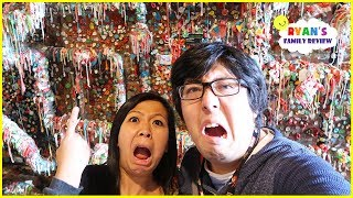 Download World's Largest Gum Wall!!!! Used Bubble Gum Stick on the Wall!!!! Video