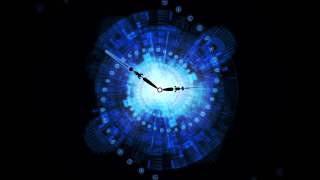 Download After Effects & Lightwave 3D - Abstract Clock Animated Background Video